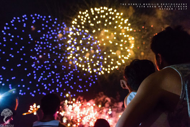 fireworks display bataan