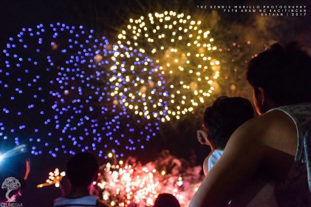 fireworks display bataan
