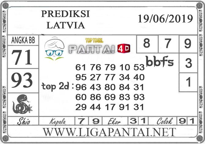 """PREDIKSI TOGEL """"LATVIA"""" PANTAI4D 19 JUNI 2019"""