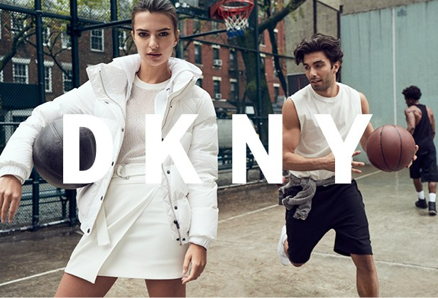 DKNY Fall/Winter 2017 Campaign featuring Emily Ratajkowski