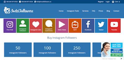 Instagram takipçi satın almak için en kaliteli takipçi adresi instafollowers.co