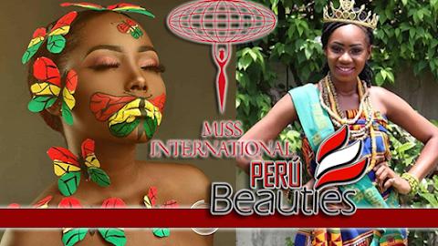 Princess Owusua Gyamfi es Miss International Ghana 2019