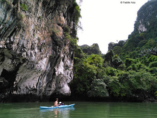 Sea kayaking in Ao Phang Nga Bay
