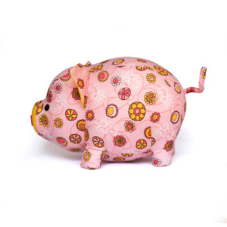 pig plush sewing pattern