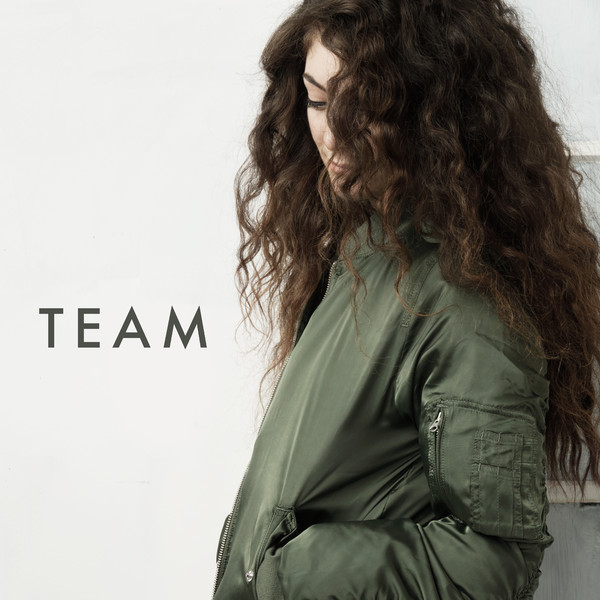 Lorde - Team - Single Cover