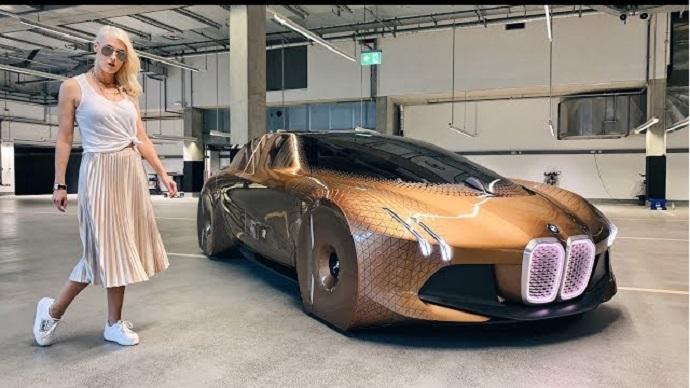 Tο αμάξι του μέλλοντος – Bmw next vision 100 -(vid)