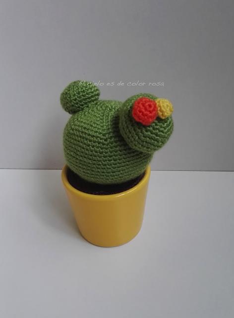 cactus a ganchillo