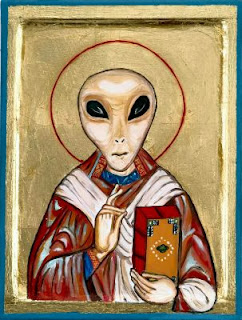 Funny short joke story picture - Was Jesus an alien?