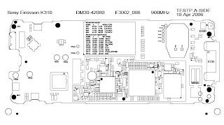 Sony Ericsson K310 Schematic Diagram  Phone Diagram