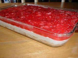 Strawberry Heaven Pudding