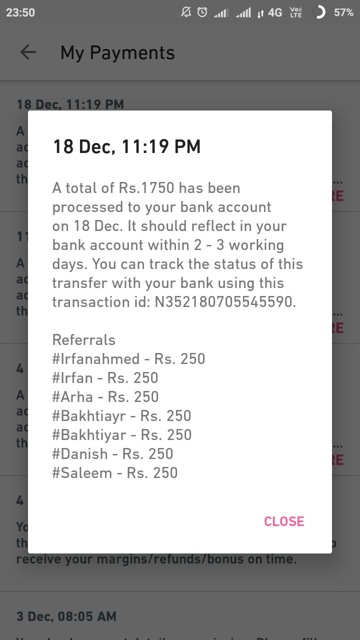 Meesho Earning App per Refer 250 first order