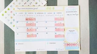 planner, planning, révisions, Mr Wonderful, place A