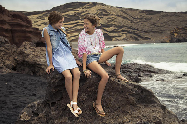 Chalecos primavera verano 2018 para niñas.