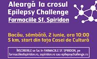 Cel mai mare cros pentru Epilepsie din Romania da startul si in Bacau!