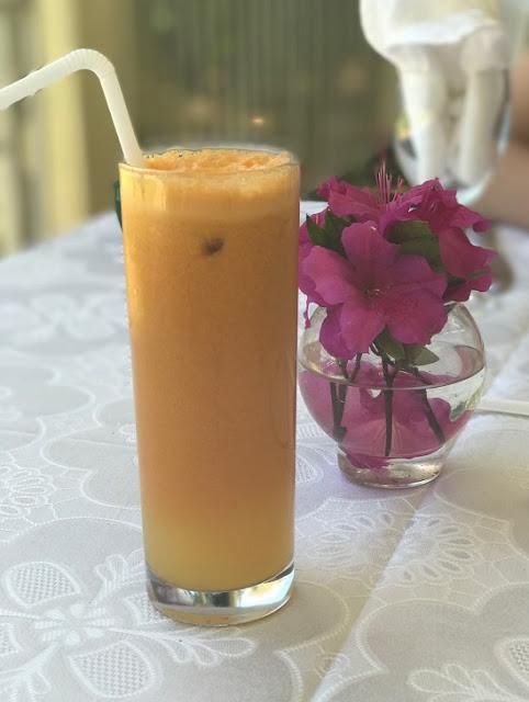 Maison Eureka, Mauritius, fruit juice