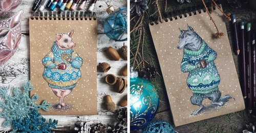 00-Lia-Selina-Fantasy-Animal-Drawings-Ready-for-Winter-www-designstack-co