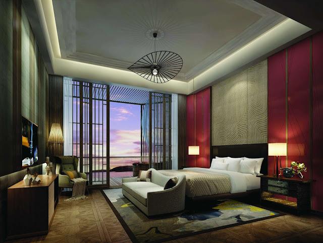 Phòng ngủ dự án La Luna Resort