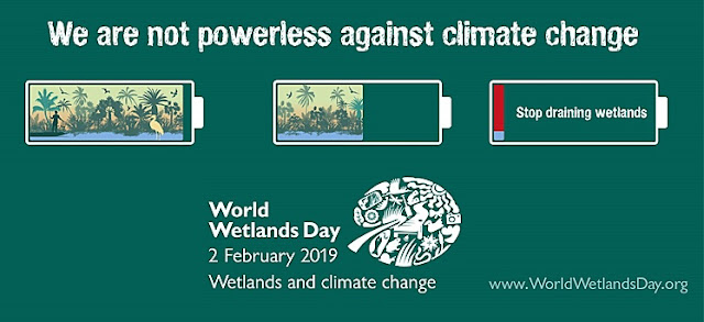 World Wetlands Day - 2 February 2019 - Theme and Notes