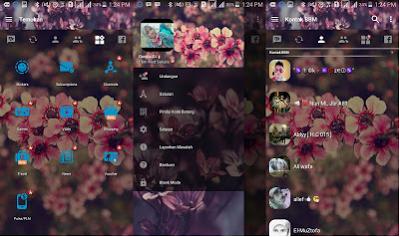 BBM Mod Pink Sakura Perfect Blossom V3.2.0.6 Apk Terbaru