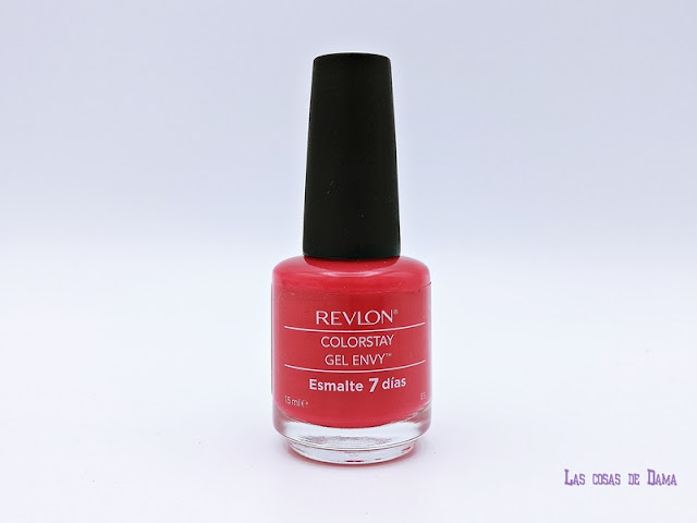 We Love Passion Revlon Colorstay Gel Envy uñas esmaltes beauty manicura belleza nails rojo red coral