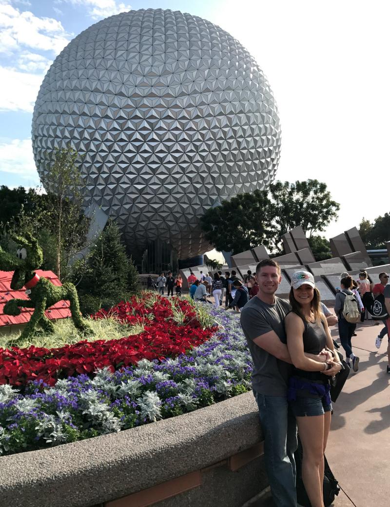 Disneyworld, Epcot, Epcot Ball