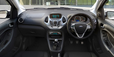 New Ford Figo 2016 dashbord look