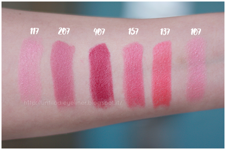 Maybelline Color Sensational The Blushed Nudes swatch