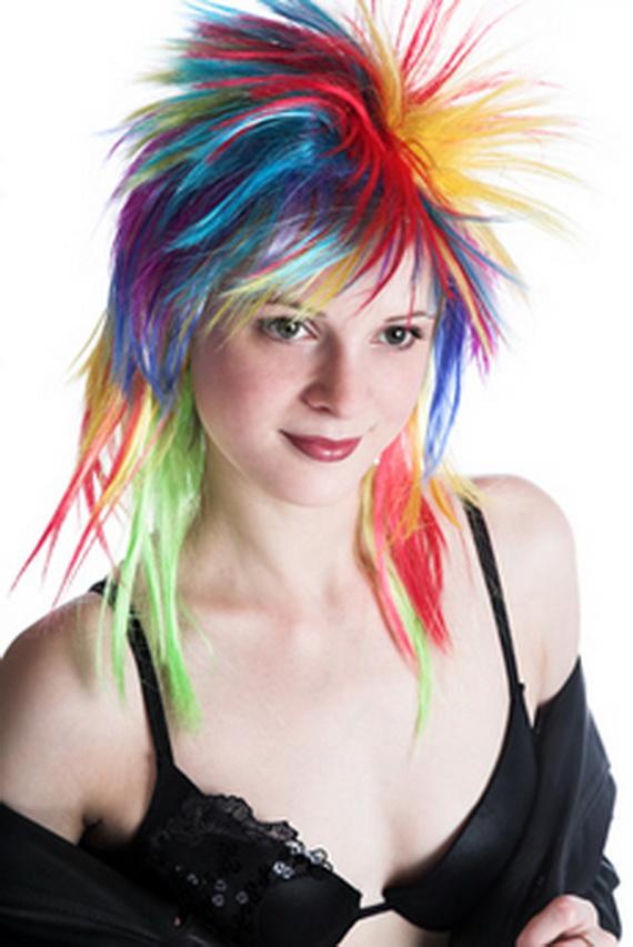 Devilinspired Punk Clothing: Fashionable Punk Hair-style