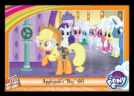 "MLP Applejack's ""Day"" Off Series 5 Trading Card"