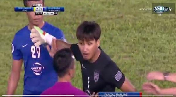 (Video) Kecoh Dalam Perlawan AFC JDT Lawan Ceres Negros, Farizal Hilang 'Cool'