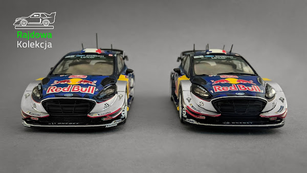 IXO vs. Altaya Ford Fiesta WRC, Winner Rallye Monte-Carlo 2017