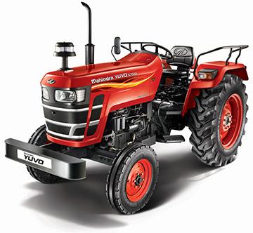 Mahindra YUVO Tractor hd image