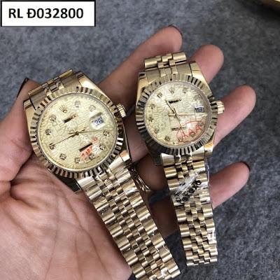 Đồng hồ cặp đôi Rolex Đ032800