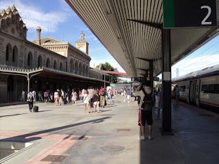 Estação ferroviária - Toledo - Espanha