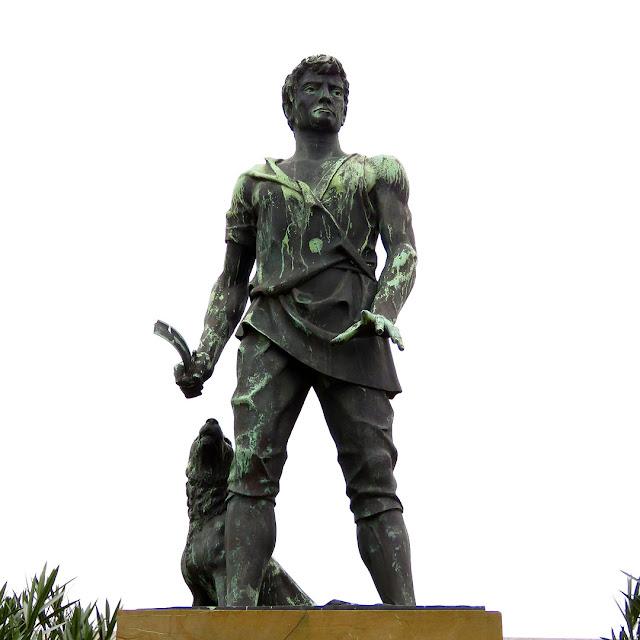 Statue of Guerrino of Montenero, Livorno