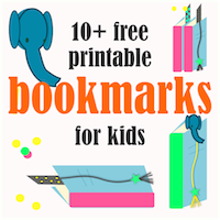 printable bookmarks for kids