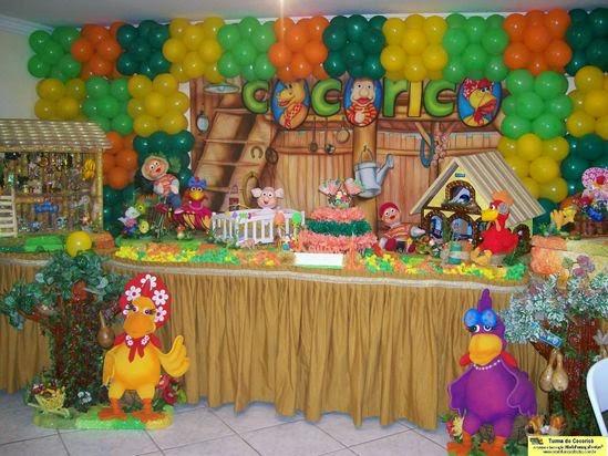 Festinha da Turma do Cocoricó