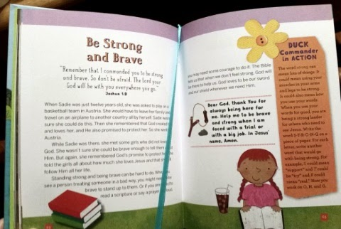 Duck Commander Devotions for Kids sample page