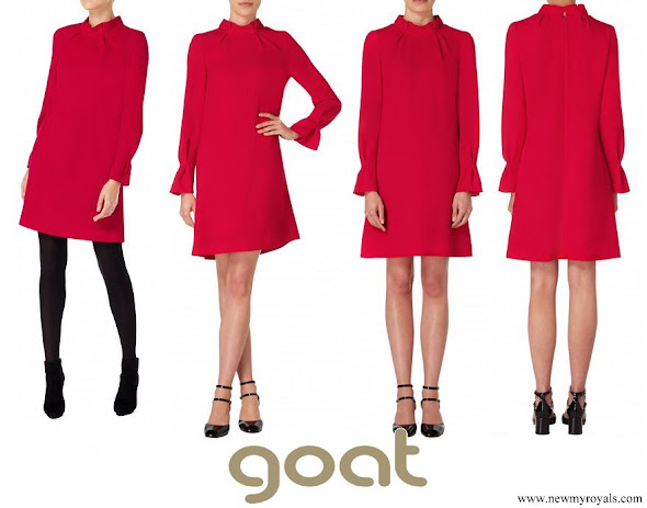 Kate Middleton wore GOAT Elodie Tunic Dress