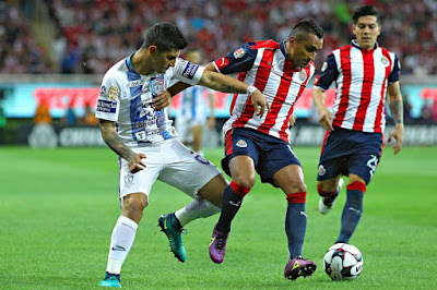 Chivas pierde contra Pachuca