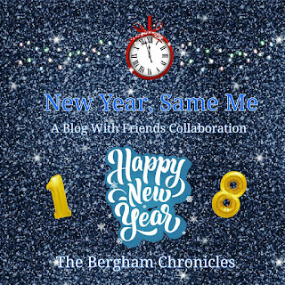 Blog With Friends, a multi-blogger project based post incorporating the theme Resolutions | New Year, Same Me by Jules of The Bergham Chronicles | Featured on www.BakingInATornado.com