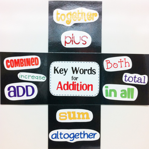 1st Grade in One Year: Addition and Subtraction Key Words