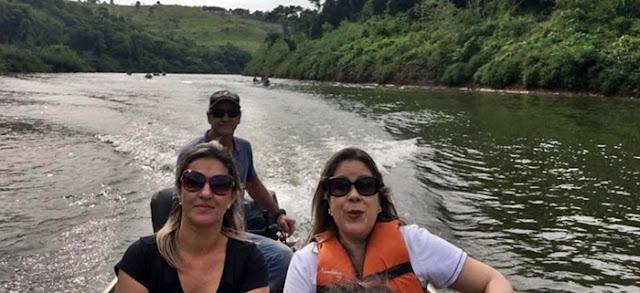 Altamira do Paraná: A prefeita e a aventura no Rio Piquirí