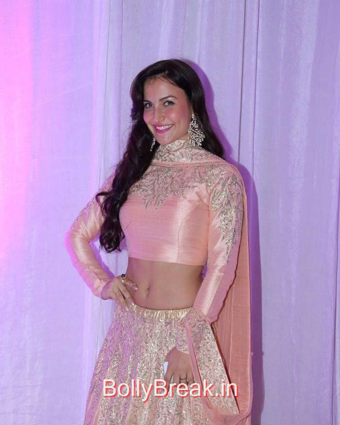Elli Avram, Elli Avram Hot Pics At Karishma Jain & Abhishek Chhajer Wedding Ceremony