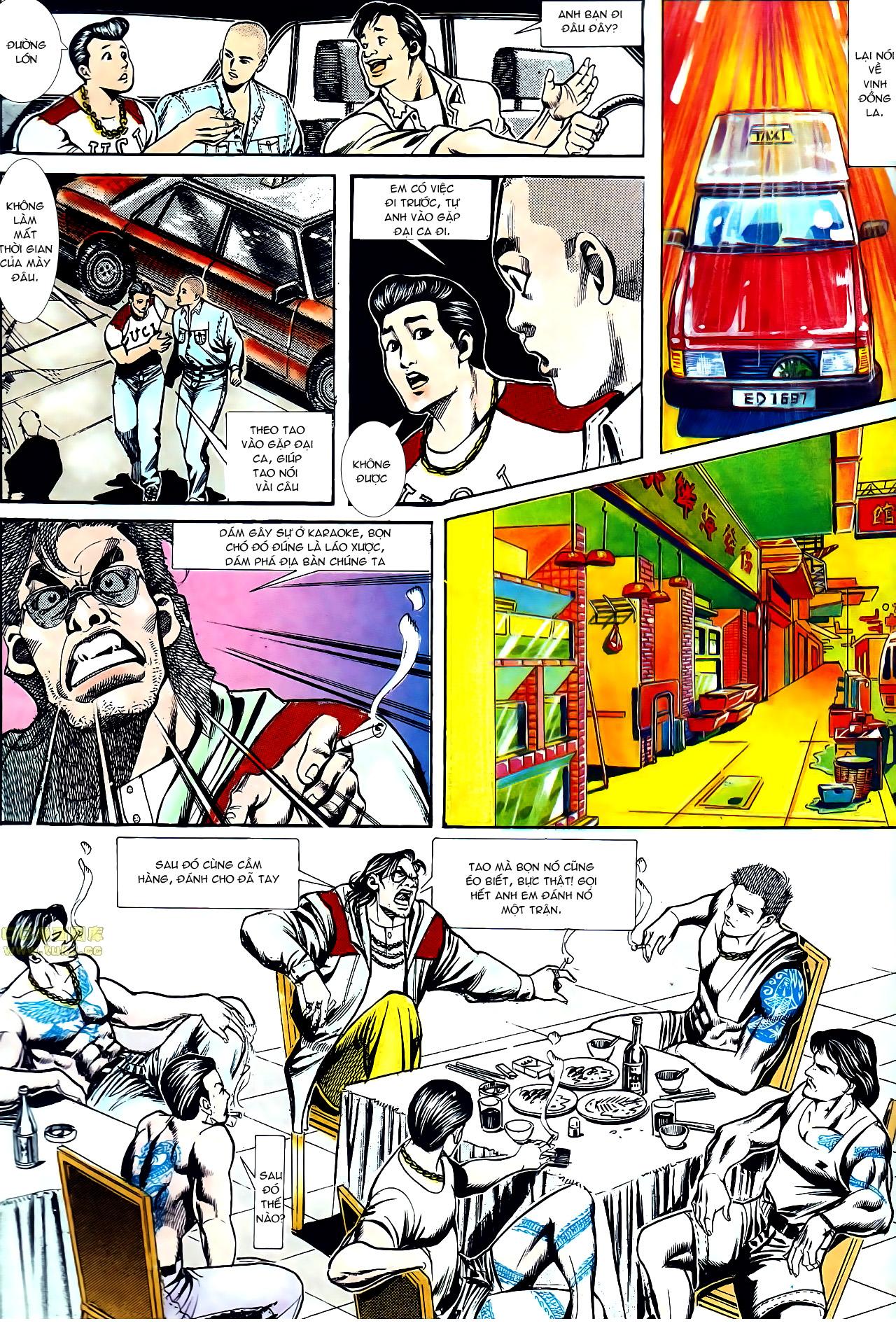 Người Trong Giang Hồ chapter 155: long đầu trang 9