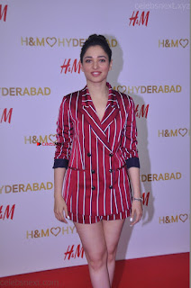 Tamannah Bhatia Exclusive in Red Blazer and Red Shorts Spicy Pics ~  Exclusive 036.JPG