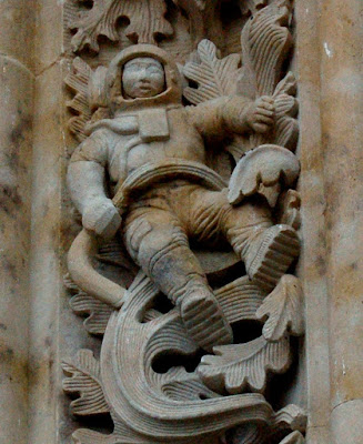 Salamanca Cathedral Astronaut Hoax