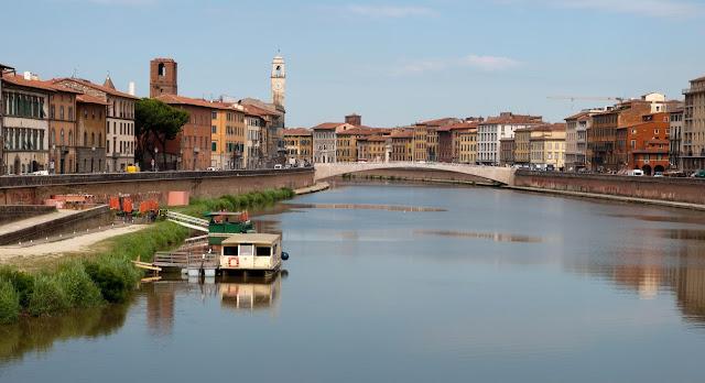 Pisa y su rio
