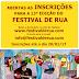 INSCRIÇÕES ABERTAS PARA  O 13º FESTIVAL INTERNACIONAL DE ARTISTAS DE RUA DA BAHIA