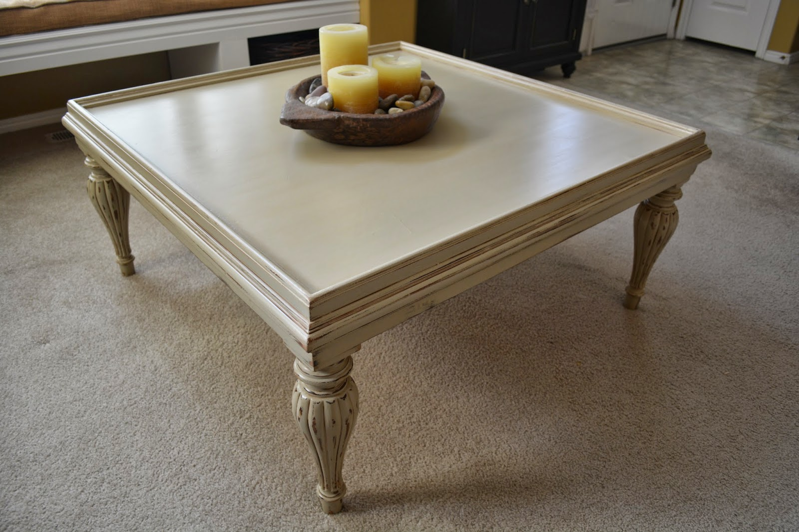 B's Refurnishings: Large, Square Coffee Table